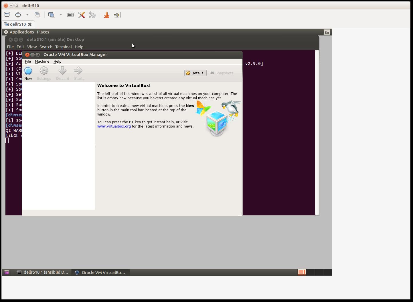 Virtualbox management GUI 4 Developing Locally u2014